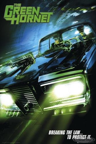 The Green Hornet Poster Teaser