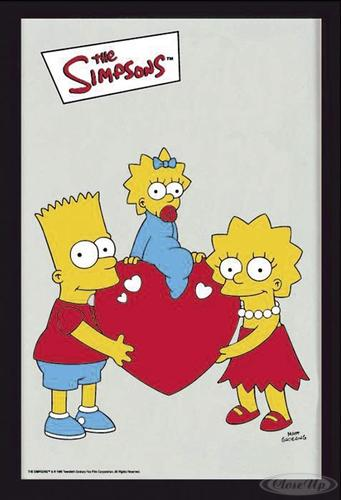 The Simpsons Spiegel Bart Maggie & Lisa