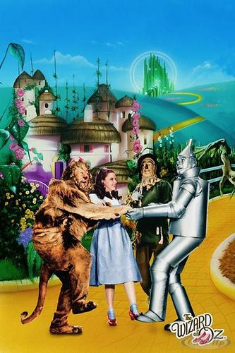 The Wizard Of Oz Poster Yellow Brick Road