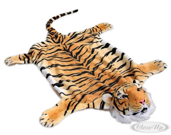 Tigerfell Teppich brauner Tiger