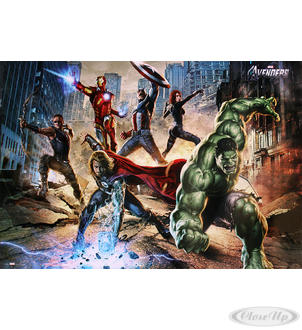 The Avengers Poster Strike