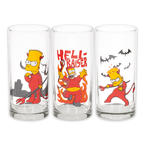 The Simpsons Glas 3er Set