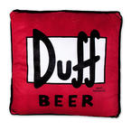 The Simpsons Kissen Duff Beer