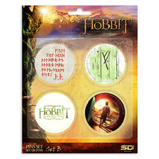 The Hobbit Buttonset B