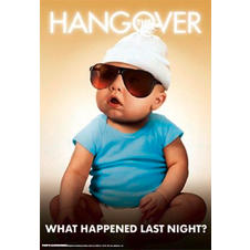 "The Hangover Art Print ""Baby"""