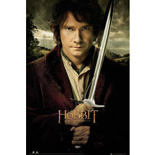 The Hobbit Poster Bilbo und