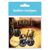 The Hobbit Buttonset Gandalf & die Zwerge
