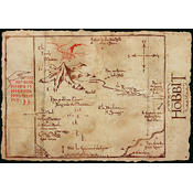 The Hobbit Map  Lonely Mountain