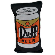 The Simpsons Pillow Duff Beer