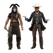 The Lone Ranger Actionfiguren assortment Tonto & Ranger