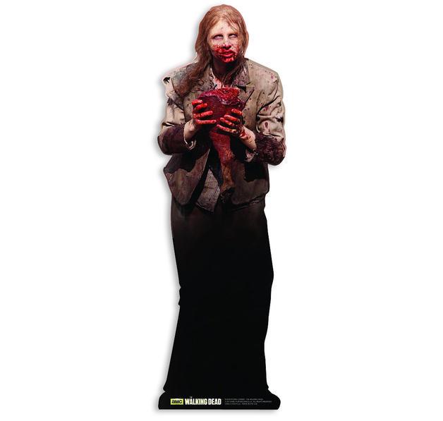 the walking dead pappaufstller feeding zombie im fanshop. Black Bedroom Furniture Sets. Home Design Ideas