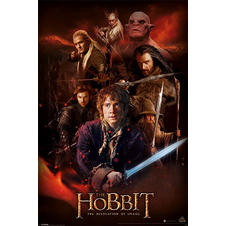 The Hobbit Poster Montage