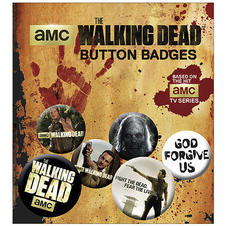 The Walking Dead Buttons