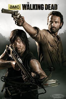 The Walking Dead Poster Rick Grimes & Daryl Dixon