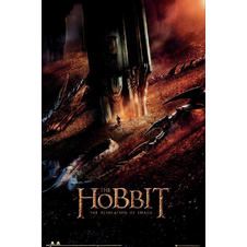 The Hobbit Poster Dragon