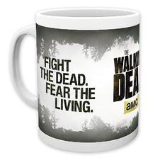 The Walking Dead Tasse Fight