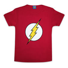 The Flash Girlie-Shirt Logo