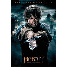 The Hobbit Poster Die Schlacht