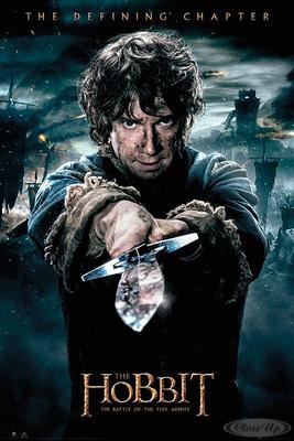 The Hobbit Poster Die Schlacht der fünf Heere Bilbo