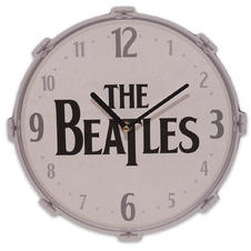 The Beatles Wanduhr Drums