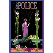 The Police Poster Bob Masse