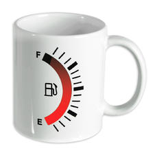 Fuel level gauge Mug