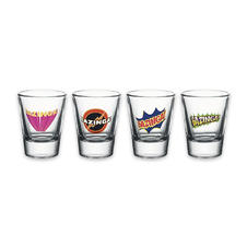 The Big Bang Theory Shot Glass Set