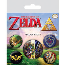 The Legend of Zelda Button Set
