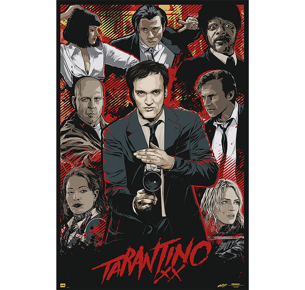 Tarantino XX Poster Movie