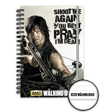 The Walking Dead Din A5 Spiralblock