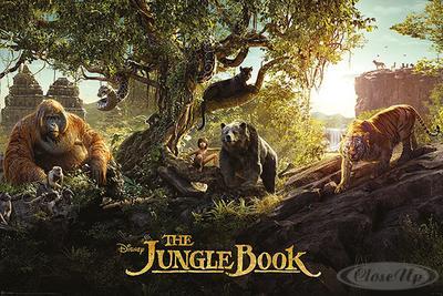 The Jungle Book Poster Panorama