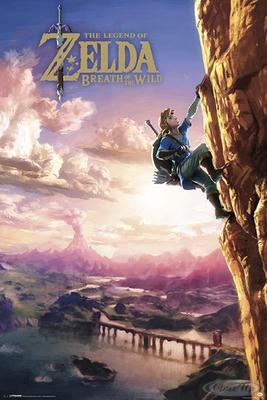 The Legend of Zelda Poster Breath Of The Wild   Dekoration > Bilder und Rahmen > Poster