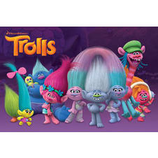 Trolls Poster - Characters