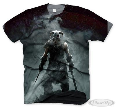 The Elder Scrolls V Skyrim T-Shirt Dragonborn