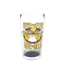 The Simpsons Glas Have A Beer