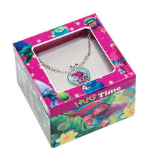 Trolls Necklace with Pendant - Hug Time/Poppy