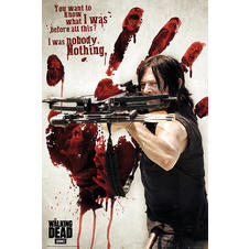 The Walking Dead Poster Bloody