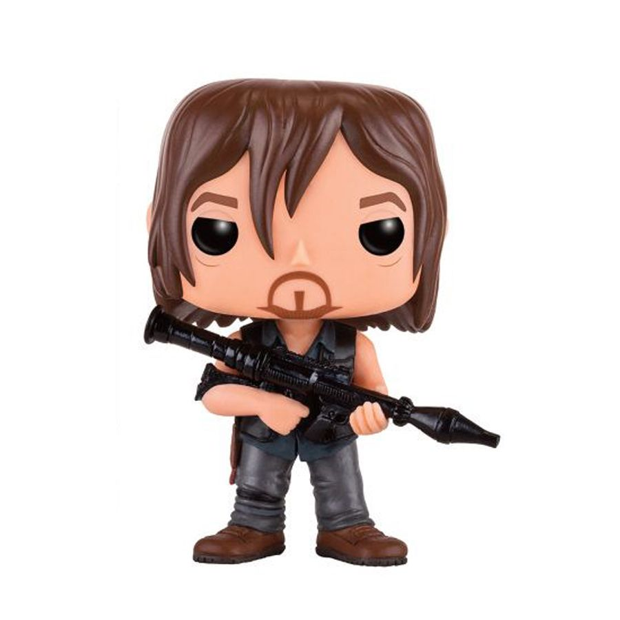 the walking dead funko pop vinyl figur daryl mit. Black Bedroom Furniture Sets. Home Design Ideas