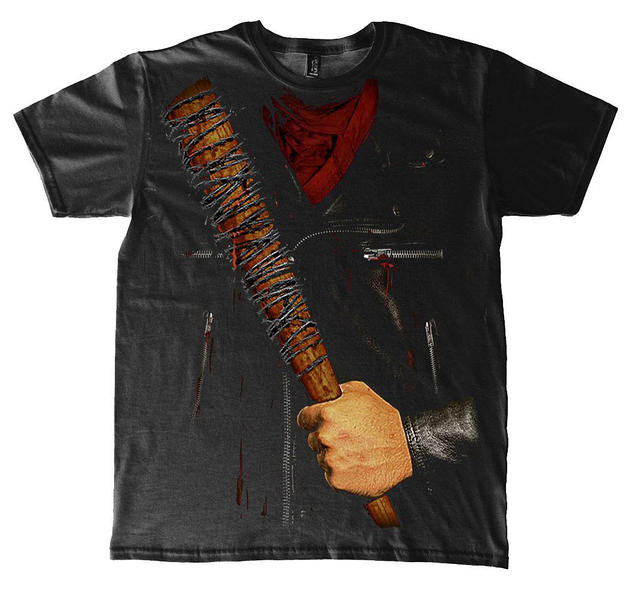 the walking dead t shirt negan kost m aus baumwolle in. Black Bedroom Furniture Sets. Home Design Ideas