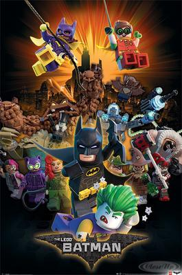The LEGO Batman Movie Charaktere