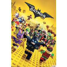 The Lego Batman Movie Poster -
