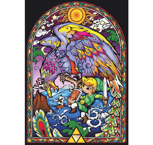 the legend of zelda xxl poster windwaker windows xxl poster jetzt im shop bestellen close up gmbh. Black Bedroom Furniture Sets. Home Design Ideas