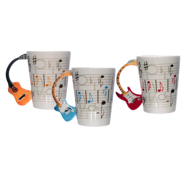 Tasse Gitarre Rock it! 3-er