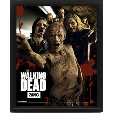 The Walking Dead 3D-Poster