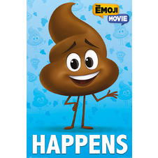The Emoji Movie Poop Happens