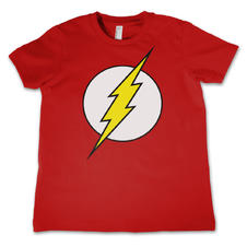The Flash Kid's T-Shirt Logo
