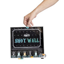 Drinking Game Shot Wall