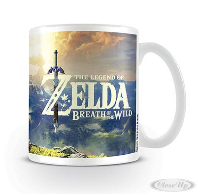 The Legend of Zelda Tasse Breath the Wild - broschei