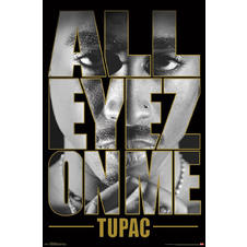 Tupac Poster All Eyes