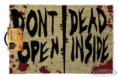 The Walking Dead Fußmatte Dont Open Inside - broschei